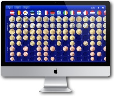 Euro Coin Collection for Mac OS X