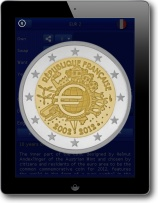 iPad2 Euro Coin Collection HD