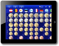 Euro Coin Collection HD iPad