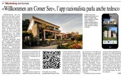 Corriere di Como - Willkommen am Comer See